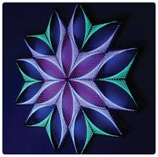 Geometric String Art Patterns Mesmerizing Glowing Geometric String Art ModiDen