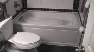 my new bathroom with kohler archer bubble tub you