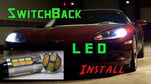 C5 Corvette Led Reverse Lights Corvette Switchback Led Install Vette Lights Com