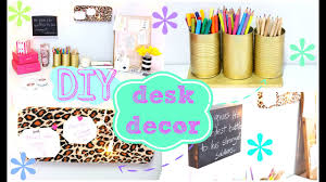 Diy office desk accessories Girly Diy Desk Decor Easy Inexpensive Youtube Diy Desk Decor Easy Inexpensive Youtube