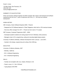 Applicant Tracking System Resume Format ATS Applicant Tracking System Resume Template 1