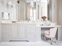 makeup vanity in bathroom. serene sanctuaries | ah\u0026l micoley\u0027s picks for #luxuriousbathrooms www. makeup vanity in bathroom