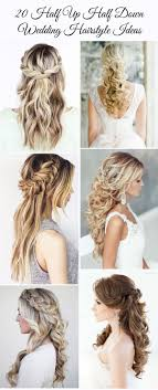 Wedding Half Up Hairstyles 20 Awesome Half Up Half Down Wedding Hairstyle Ideas