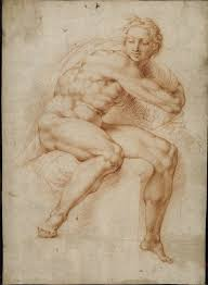 4 28 peter paul rubens youth turning to the right after michelangelo