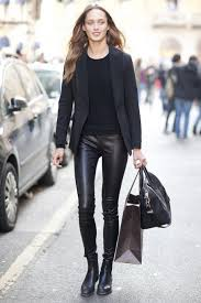 leather leggings shoes fanciful how to wear leather pants anywhere
