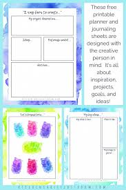 free daily planner printables personal planner for creatives 10 gorgeous pages of free