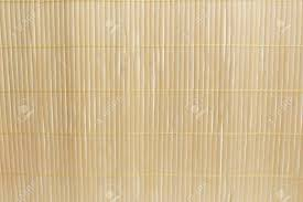 Brown Bamboo Mat On White Kitchen Table Background