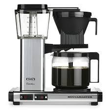 technivorm moccamaster kbg ao 741 coffee maker glass carafe polished silver espresso planet canada
