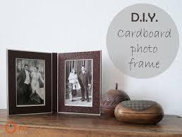 diy cardboard frame 33 small