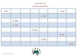 Skip Count Worksheets | Kids Activities