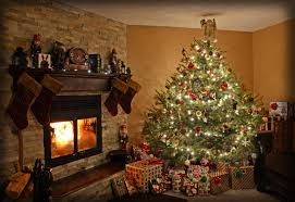 christmas fireplace hd wallpaper. Contemporary Fireplace Christmas Tree Fireplace Holiday  HD Wallpaper  Background  Image ID668461 For Hd L