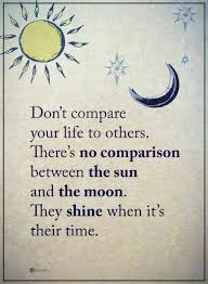 Compare Quotes life quotes Don't compare your life to others There's no comparison 11