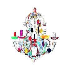 multi colored chandelier color beaded earrings glass