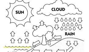 Water Cycle Coloring Page with Water Cycle Coloring Page the Water ...