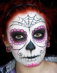 sugar skulls face painting tutorial google search