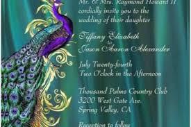 Free Peacock Wedding Invitation Templates Peacock Wedding