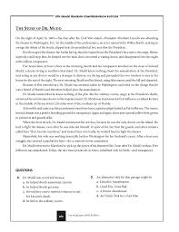 Reading Comprehension Worksheets 8th Grade. Reading ...