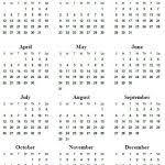 Printable Online Calendar 2020 5 Best Of 2020 Yearly