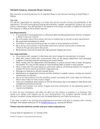 ... Resume Sample For Assistant Buyer Buyer Resume Example: Retail Buyer  Resume Samples ...