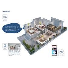 Ổ Cắm Điện Đa Năng Wifi Thông Minh Điều Khiển Từ Xa Hẹn Giờ Rạng Đông - Cáp  Tivi