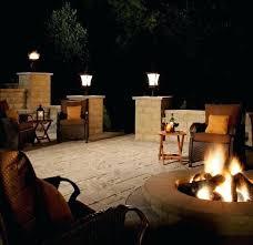 outdoor lighting ideas for patios. Outdoor Lamp For Patio Ideas With Wicker Chairs Lighting Patios