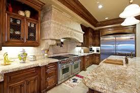 Beautiful Kitchen With Sensa Outono Granite Counters