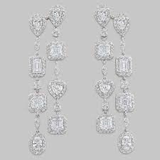 full size of living attractive cubic zirconia chandelier earrings 14 5968wcd halo cubic zirconia chandelier earrings