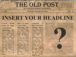Custom Newspaper Template Free Editable Old Newspaper Powerpoint Template