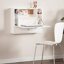 Fold down wall desk Mid Image Unavailable Treehugger Amazoncom Southern Enterprises Willingham Wall Mount Folding
