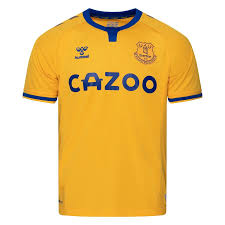 Everton's 15/16 away jersey features a fresh clean look with subtle hoops on the sleeves. Everton Away Shirt 2020 21 Www Unisportstore Com