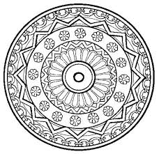 Small Picture Trippy Mandala Coloring Pages Coloring Pages