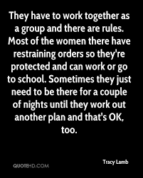Working Women Quotes Best Tracy Lamb Quotes QuoteHD