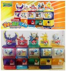 Pokemon Mini Vending Machine Extraordinary Gashapon Collectibles Collection On EBay