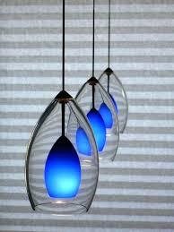 outstanding blue pendant lights kitchen glass light shades full size