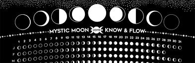 Free Moon Phase Calendar Spiral Spectrum