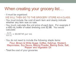 Shopping List Price Calculator Grocery List Prices Calculator Anyprint Vaultradio Co