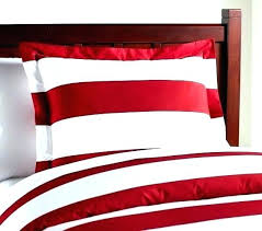 red and white striped sheet rugby stripe bedding pottery barn target quilt set uk navy st rugby stripe quilt cover boys