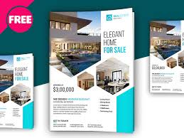 Real Estate Brochure Template Free Free Psd Premium Real Estate Flyer Template Real Estate