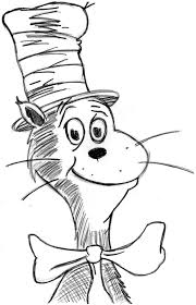 Small Picture Dr Seuss Cat In The Hat Coloring Pages Cat In The Hat Coloring