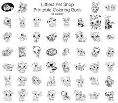 Littlest Pet Shop Coloring Book Quirky Artist Loft Littlest Pet Shop