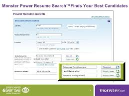 Resume Search Search Resume Database Ziprecruiter Monster Resume