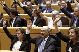 Resultado de imagen de votacion parlamento bancada pp