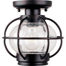 outdoor ceiling lighting exterior light fixtures in bronze round black finish motion sensor outdoor portsmouth semi