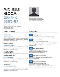 Award Winning Resume Templates Gorgeous Simple Resume Templates [28 Examples Free Download]