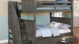 jordan full over full bunk bed with staircase waterford 3 drawer storage