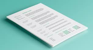 resume free psd resume templates