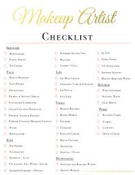 makeup list for makeup artist mugeek vidalondon