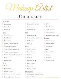 makeup artist kit checklist fortheloveofm