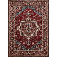 old world classics antique mashad antique red 7 ft x 10 ft area rug