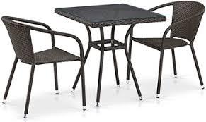<b>Комплект мебели Афина T</b> 282 BNT/Y 137 C-W 53 Brown 2Pcs ...